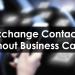 Exchange Contacts Without Business Cards!